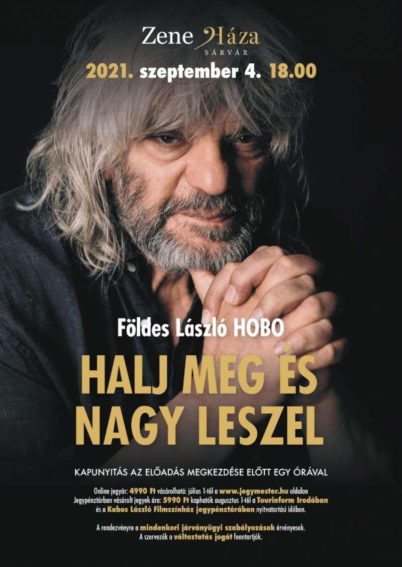 Földes László Hobo ismét a ZeneHázában