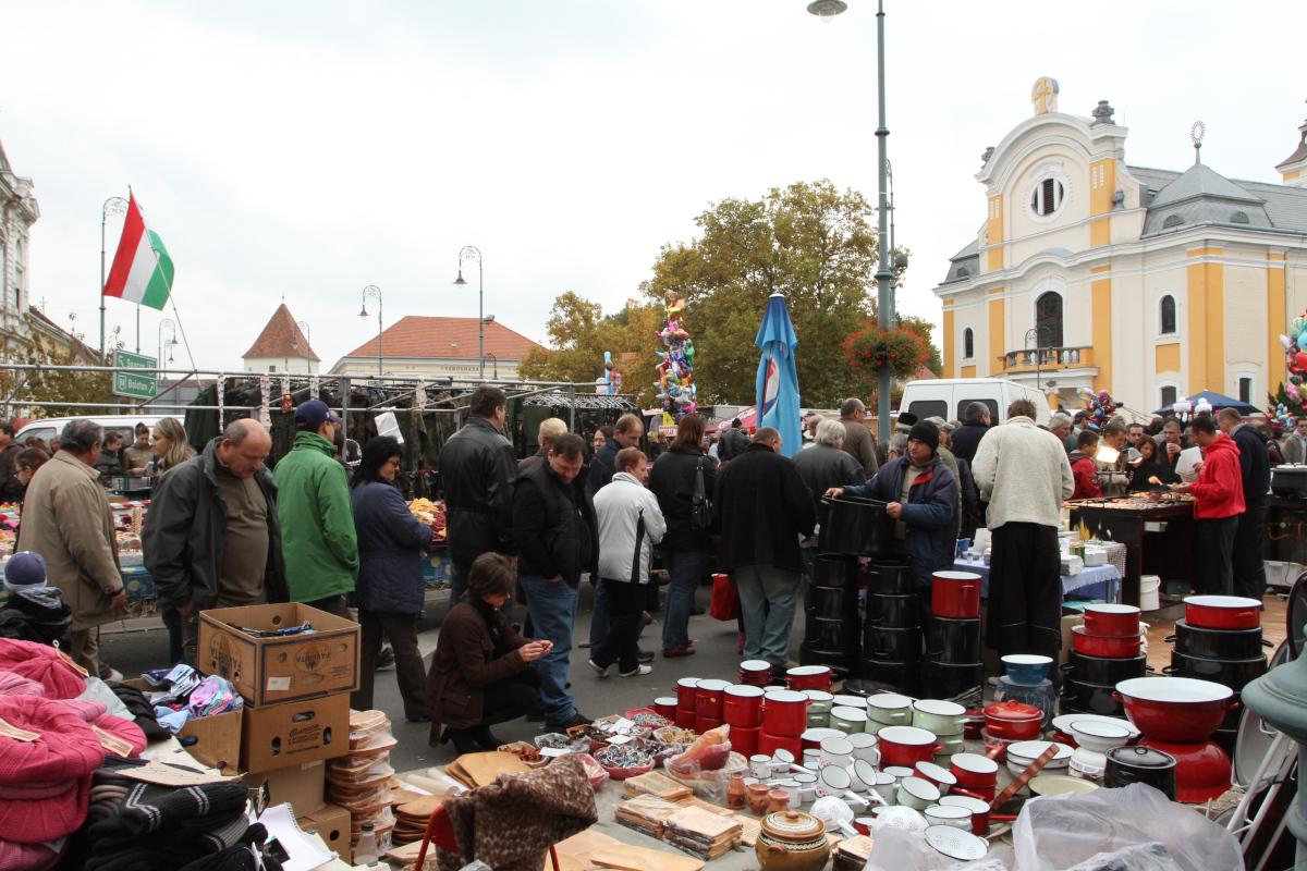 Október 30-án lesz a Simon-Júdás vásár Sárváron